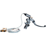 Accossato Radial Brake Master Cylinder W/Folding Lever & Electronic Adjust -  Motorcycle Hand Controls