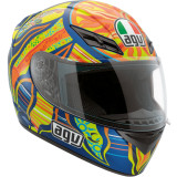 AGV K3 Helmet - 5-Continents - AGV Motorcycle Products