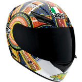 AGV K3 Helmet - Dreamtime - Full Face Motorcycle Helmets