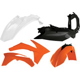 Acerbis Plastic Kit - Dirt Bike Body Parts and Accessories