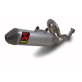 Akrapovic Evolution Titanium Full System Exhaust With Spark Arrestor - Dirt Bike Exhaust Systems & Accessories