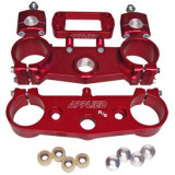 Applied Factory R/S Triple Clamp Set With Oversized Bar Mounts - Honda Dirt Bike Bars and Controls