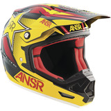 Answer 2015 Evolve 2.0 Rockstar Helmet - Dirt Bike Chest and Back