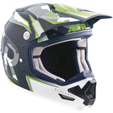 Answer 2015 Evolve 2.0 Valor Helmet - Dirt Bike Chest and Back