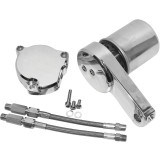 Baron Custom Accessories Oil Filter Relocation Kit - Cruiser Engine Parts & Accessories