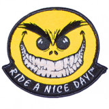 Baron Custom Accessories Ride-A-Nice-Day Patch - Dirt Bike