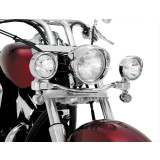 Show Chrome Driving Light Kit - Elliptical - Show Chrome Cruiser