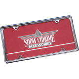 Show Chrome Automotive License Plate Trim - Show Chrome Motorcycle Parts