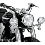 Show Chrome LED Driving Light Kit - Elliptical - Show Chrome Motorcycle Parts