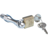 Show Chrome Mini Brass Padlock - Show Chrome Motorcycle Parts
