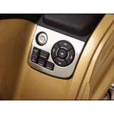 Show Chrome Navigation Control Panel Accent With Key Hole - Cruiser Dash and Gauges