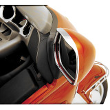 Show Chrome Visored Mirror Trim - Cruiser Fairing Kits and Accessories