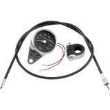 Biker's Choice Custom Mini Speedometer Kit - 2:1 - Cruiser Dash and Gauges