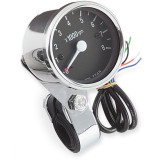 Biker's Choice Electronic Custom Mini Tachometer - Cruiser Dash and Gauges