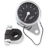 Biker's Choice Mechanical Custom Mini Tachometer - Cruiser Dash and Gauges