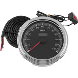 Biker's Choice Cable Driven Speedometer - Cruiser Dash and Gauges