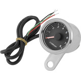 Biker's Choice Electronic LED Mini Tachometer - Cruiser Dash and Gauges