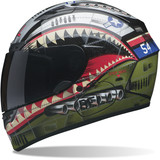 Bell Qualifier DLX Helmet - Devil May Care - Full Face Motorcycle Helmets
