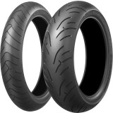Bridgestone Battlax BT023 Tire Combo - Motorcycle Tire and Wheels