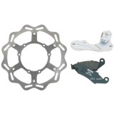 Braking W-FLO Oversized Brake Rotor Kit - Front -