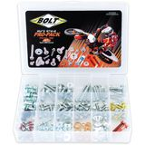 Bolt Motorcycle Hardware Euro Pro-Pack - BOLT Motorcycle Hardware ATV Bolt Kits