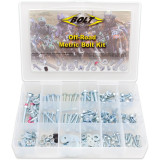 Bolt Motorcycle Hardware Off-Road Metric Bolt Motorcycle Hardware Kit - Utility ATV Body Parts and Accessories