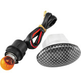 BikeMaster Flat Oval Flush Mount Marker Light - Discount & Sale Motorcycle Lights and Electrical