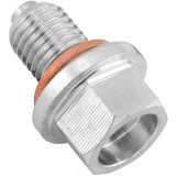 BikeMaster Steel Magnetic Oil Drain Plug - Motorcycle Products