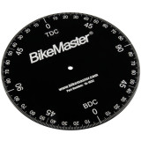 BikeMaster Aluminum Timing Degree Wheel - Motorcycle Engine Parts and Accessories