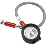 BikeMaster 2-In-1 Tire Gauge - BikeMaster Utility ATV Tire and Wheels