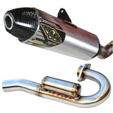 Bill's Pipes RE 13 Complete Exhaust - Dirt Bike Exhaust Systems & Accessories