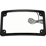 Custom Dynamics LED License Plate Frame - Custom Dynamics Cruiser Products