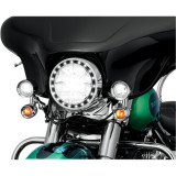 Custom Dynamics Truflex Windshield Trim LED Turn Signals - Custom Dynamics Cruiser Products