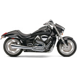 Cobra Tri-Pro 2-Into-1 Exhaust - Cruiser Full Exhaust Systems