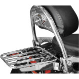 Cobra Tube Solo Luggage Rack For OEM Backrest - Cruiser Tail Bags