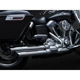 Crusher Staggered Duals Full System Exhaust With Power Cell - Cruiser Full Exhaust Systems
