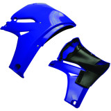 Cycra Powerflow Radiator Shrouds - Dirt Bike Plastics and Plastic Kits