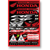 D'COR Visuals 2014 Honda CRF Decal Sheet - ATV Graphics, Decals, Seats and Seat Covers