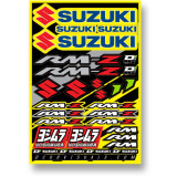 D'COR Visuals 2014 Suzuki RMZ Decal Sheet - ATV Graphics, Decals, Seats and Seat Covers