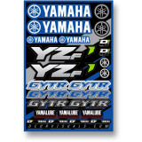 D'COR Visuals 2014 Yamaha YZF Decal Sheet - ATV Graphics, Decals, Seats and Seat Covers