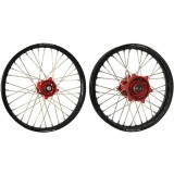 Kit Red Hub/Black Rim