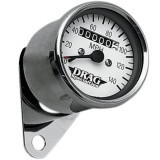 Drag Specialties Mini Speedometer - Cruiser Dash and Gauges