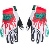 Deft Family Youth EQVLNT Gloves - Slime - Dirt Bike Gloves