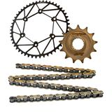 Dirt Tricks Chain and Zirconium Sprocket Kit