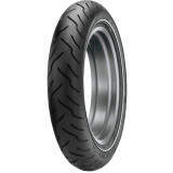 Dunlop American Elite Narrow Whitewall Front Tire - Dunlop 130 / 80-17 Cruiser Tires