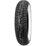 Dunlop D404 Wide Whitewall Rear Tire -  Cruiser Tires