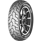 Dunlop 491 Elite II Raised White Letter Rear Tire -  Cruiser Tires