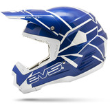 EVS T5 Neon Blocks Helmet - EVS ATV Protection