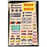 FLU Designs Universal Multi Logo Decal Kit