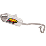 FMF Powercore 4 Complete Exhaust With Stainless Hi-Flo Header - Dirt Bike Exhaust Systems & Accessories